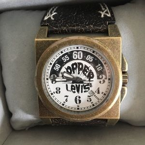 Levi Strauss Distress Watch.  New.